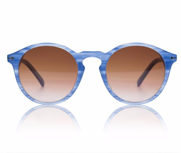 Sons + Daughters Clark Sunglasses Blue Dusk