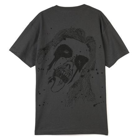 Pleasures God Bless T shirt - Charcoal