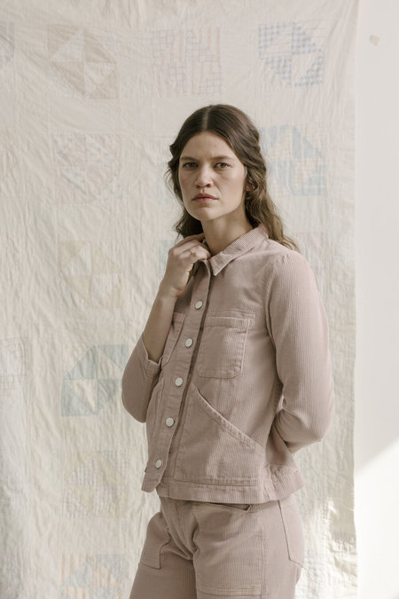 Carleen Triangle Pocket Jacket - Pink
