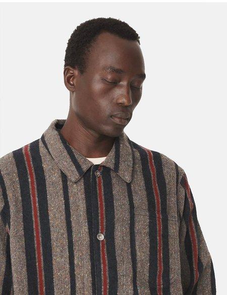 YMC Cubist Stripe Jacket - Grey/Multi