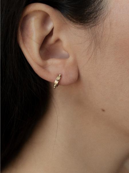 Oma Maria Stud Earrings - Sterling Silver