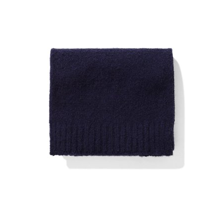 Norse Projects Norse Brushed Scarf - Dark Navy