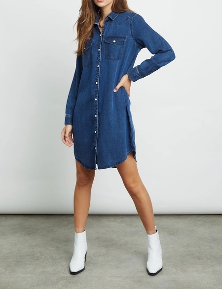 Rails Sandra Denim Shirt Dress