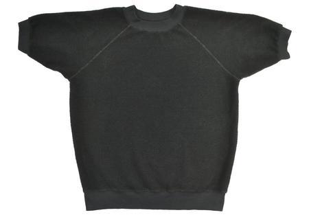 Unisex Jungmaven Short Sleeve Raglan Sherpa Sweatshirt - Black
