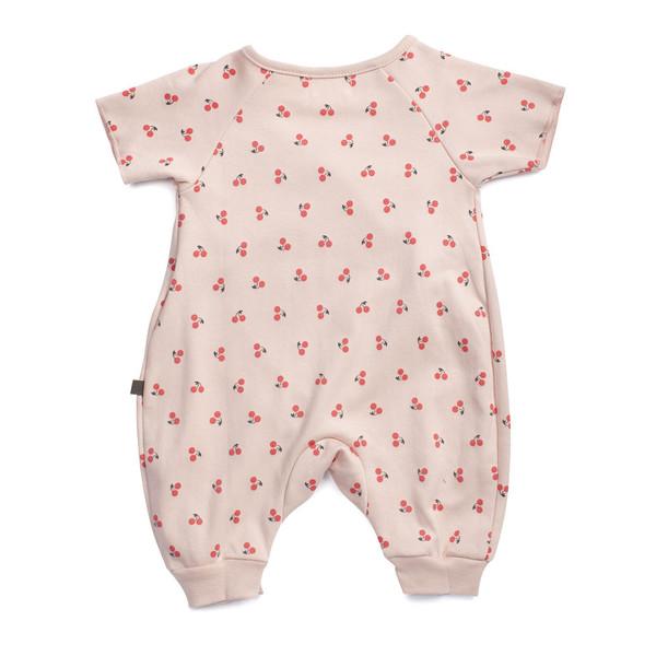 Kid's Oeuf Kimono Jumper Pink Cherry