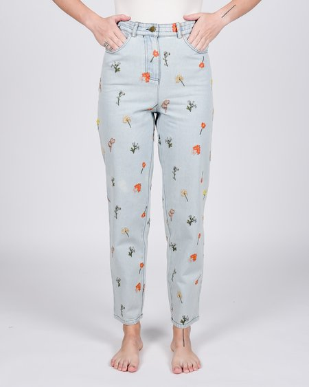 Meadows Begonia jeans - mid-blue