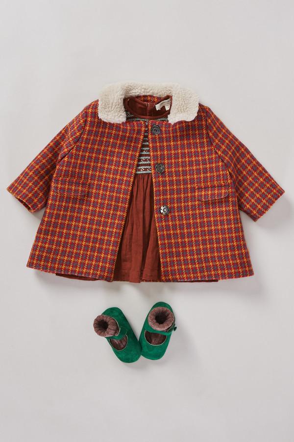 Caramel Malachite Baby Dress