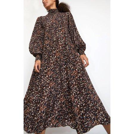No.6 Reid Dress - Brown Jungle