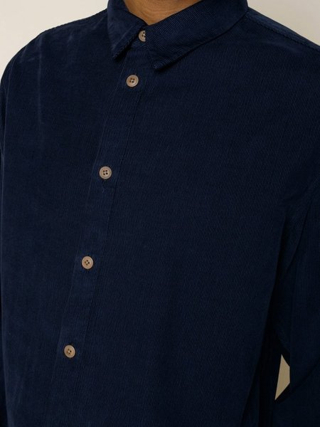 Folk Clothing Baby Cord Shirt - Navy