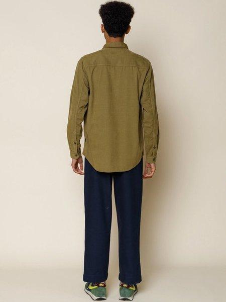 Folk Clothing Baby Cord Shirt - Tobacco