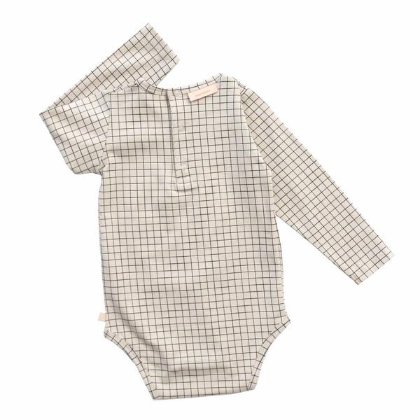 Tiny Cottons Medium Grid Onesie
