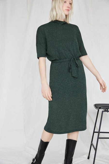 EVE GRAVEL KEOMA DRESS - SPRUCE