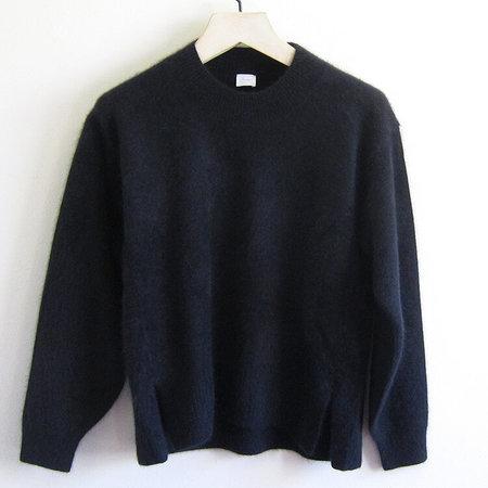CT Plage brushed wool sweater - black