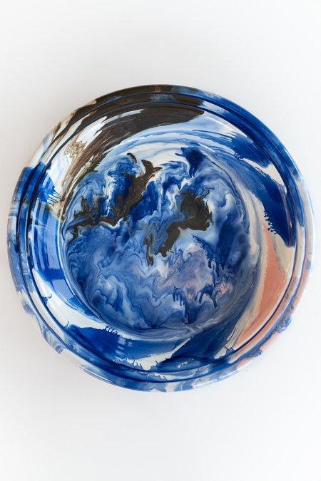 Hay Swirl Bowl - Blue