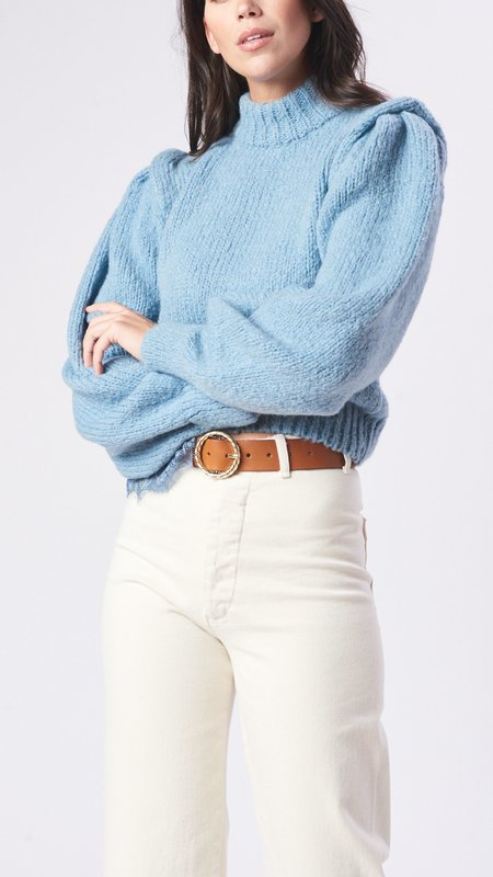 Hayley Menzies Lacey Jumper - Blue