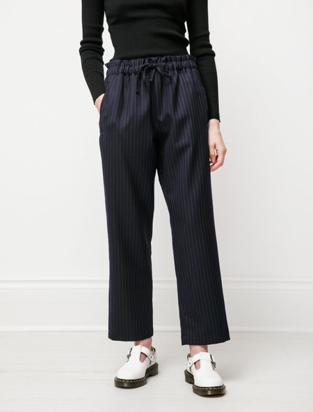 Norse Projects Ally Drawstring Trousers - Stripe