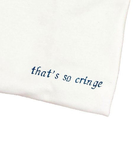 unisex House of 950 that's so cringe  embroidery tee shirt