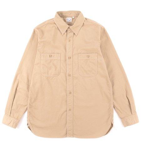 orSlow Army Shirt - Khaki
