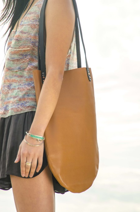 AW by Andrea Wong BOCCE BAG | CARAMEL