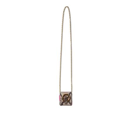 TUBICI Parigi stone mini bag - Python