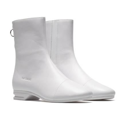 RAF SIMONS 2001 2 High boots - White