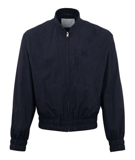 Kenzo Light Cotton Bomber Jacket - Navy