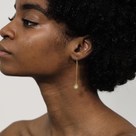Montserrat New York The Girasol Threader Earrings