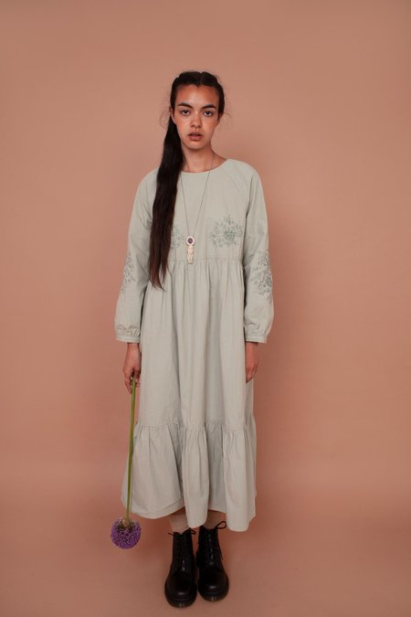 Meadows Acacia Dress - Sage