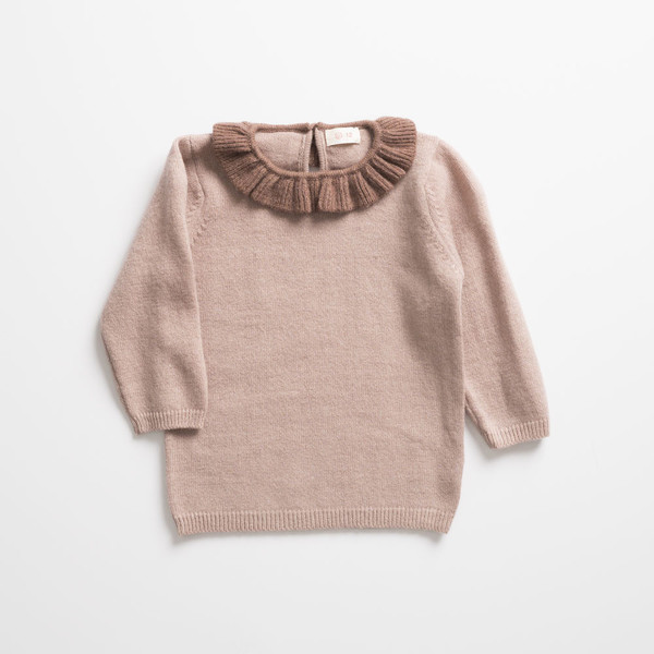 Ketiketa Ruffled Collar Sweater