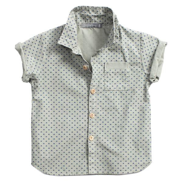 1+ in the Family Salva Shirt Grey