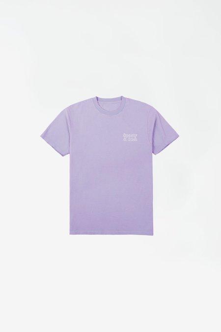 Sporty & Rich Fun Logo T-shirt - Lilac