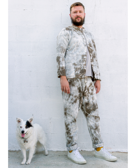 *Garmentory Exclusive* SEEKER x VOYAGER Paddington Pants - Vine Tie Dye