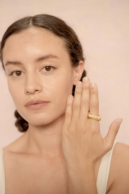 Eyde alte Ring - Recycled Metal Options (Brass/Silver/14kGold)