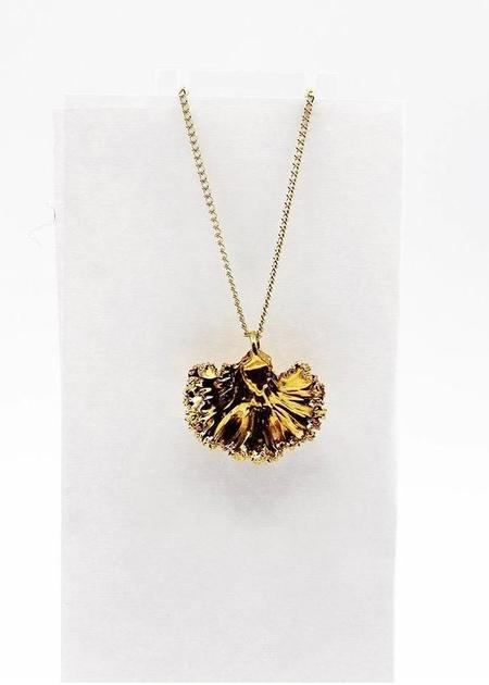 Dauphinette Kale Necklace - Gold