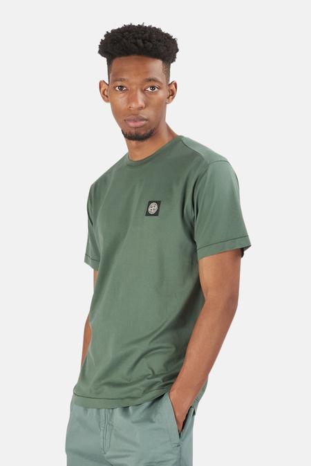 Stone Island Chest Logo T-Shirt - Green