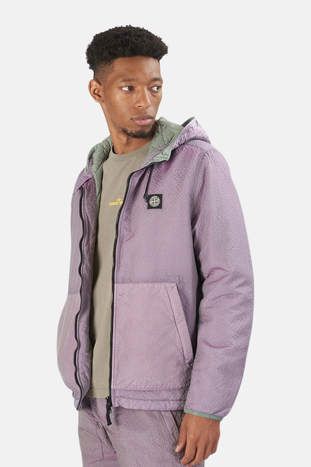Stone Island PrimaLoft-TC Hooded Jacket - Purple