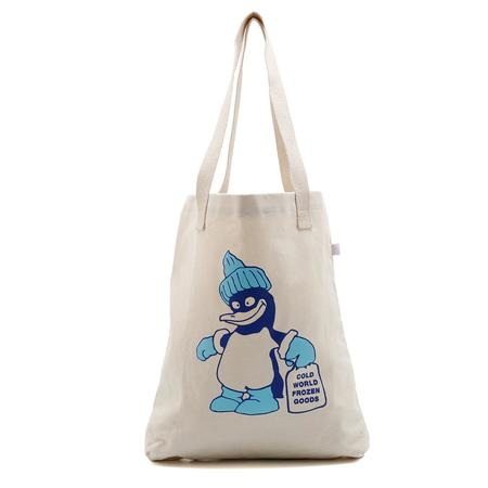 Cold World Frozen Goods Ice World 12oz Tote - Natural