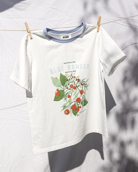 Ryder The Blue Banded Bee Tee