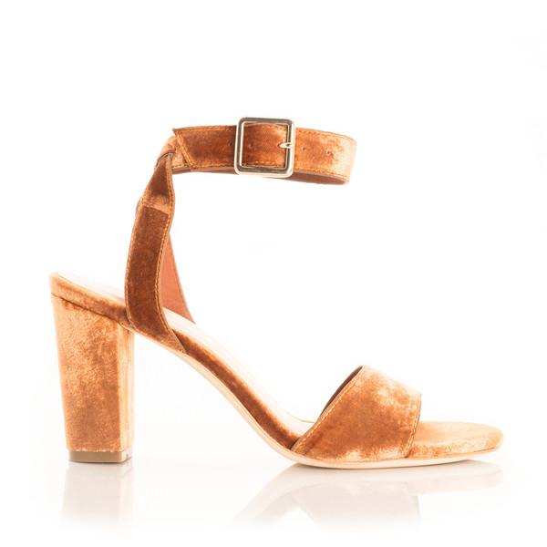 Charlotte Stone Samia heel - Russet