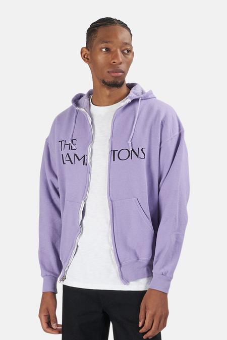 Blue&Cream Lamptons Hoodie Sweater - Purple