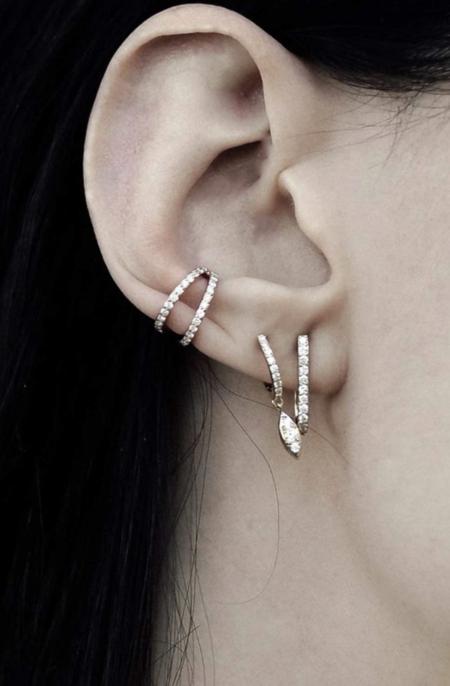 Carbon & Hyde Delilah Single Huggy Earring