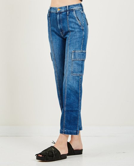 Mother Denim The Rambler Cargo Ankle Jeans - Fruit Carts