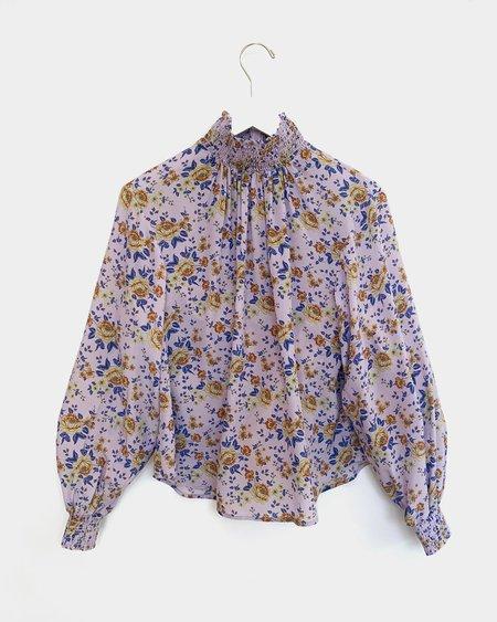 No.6 Thea Blouse - Lilac Bouquet