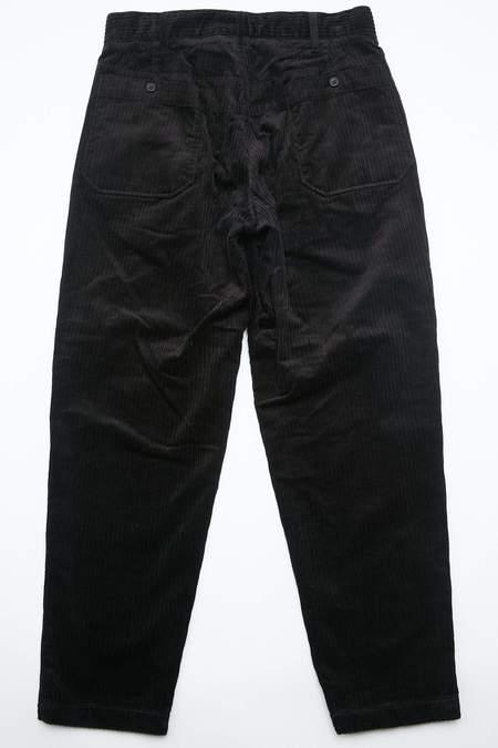 Engineered Garments Carlyle Pant in Hi Lo Corduroy - Black