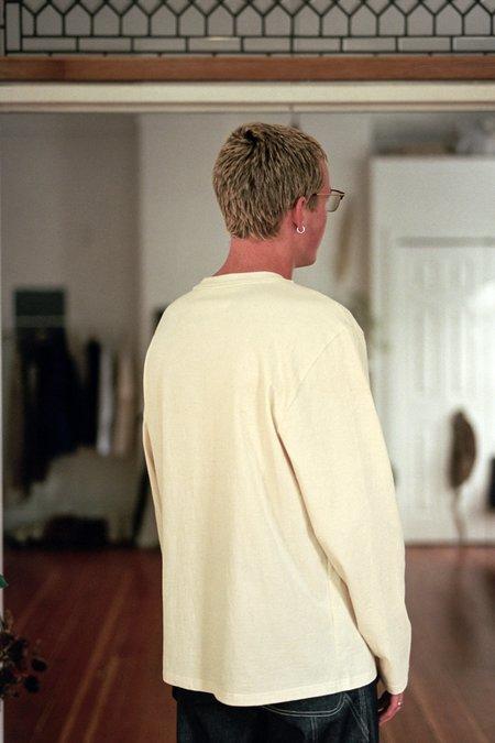 Camiel Fortgens Basic Crew Neck in Cotton - Off White