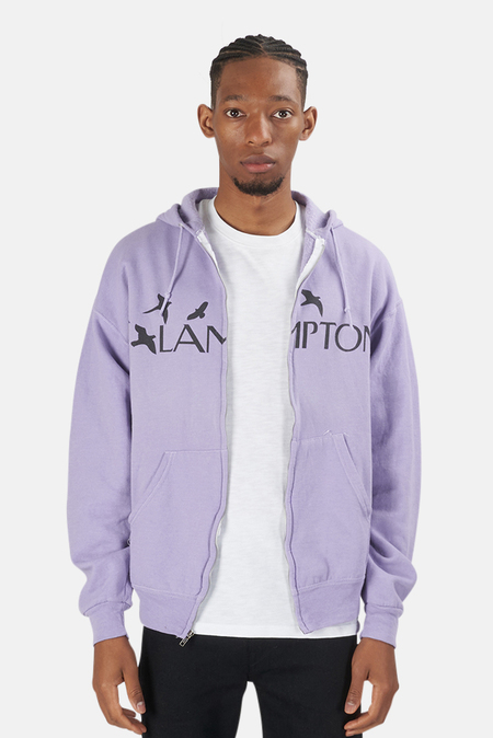 Blue&Cream Lamptons Hoodie Sweater - Purple/Black