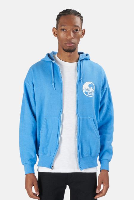Blue&Cream Tsunami Hoodie Sweater - Sky Blue