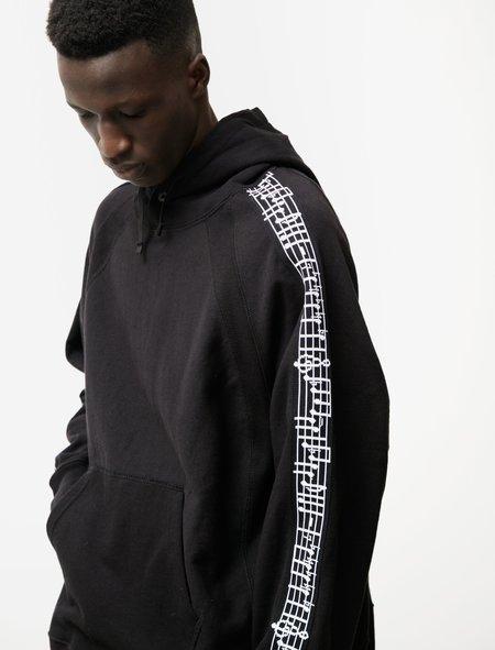 Engineered Garments Raglan Hoody Knit Tape - Black
