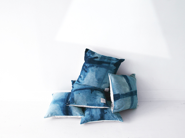 Scout & Catalogue CASA BONITA CUSHION - INDIGO SWELL