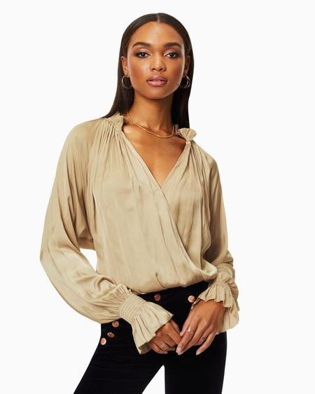 Ramy Brook Bethany Top - Gold Dust